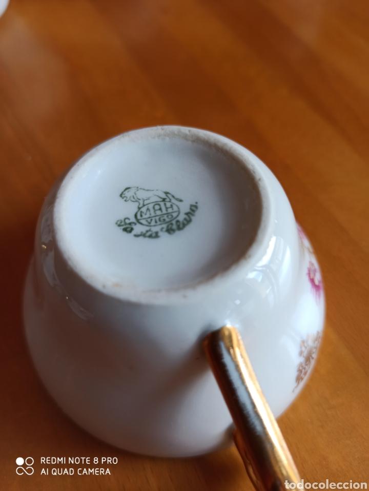 Antigüedades: Juego de cafe Santa Clara, tiene 70 años - Foto 8 - 211993865