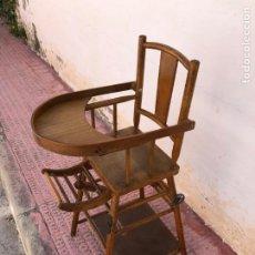 Antigüedades: SILLA NIÑO PRINCIPIOS SIGLO XX MADERA MUY BONITA. Lote 212009776