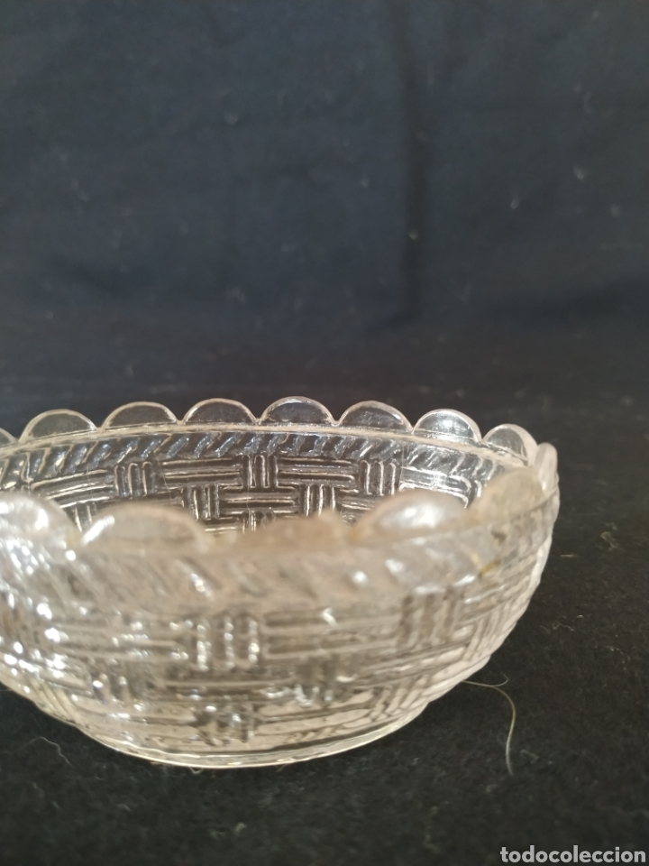 Antigüedades: Caja en cristal prensado de santa lucía .Primer cuarto siglo xx - Foto 4 - 212014881