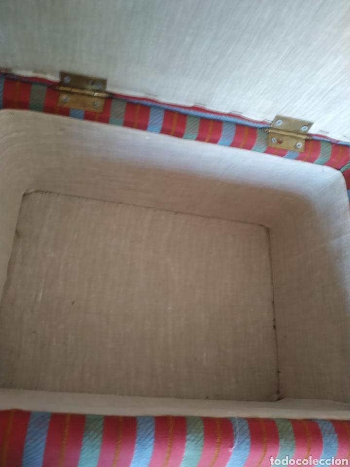 Antigüedades: Elegante Cofre-escabel actual .Sin uso - Foto 8 - 212018113