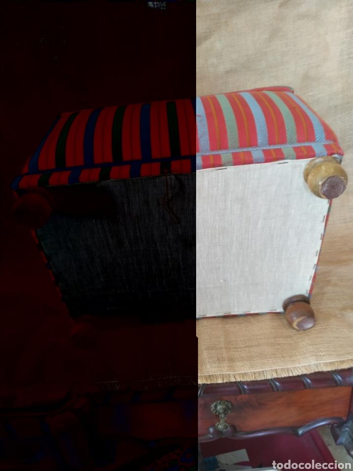 Antigüedades: Elegante Cofre-escabel actual .Sin uso - Foto 13 - 212018113