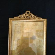 Antigüedades: PORTAFOTOS FRANCÉS DE FINALES DEL SIGLO XIX .BRONCE .GRANDE. Lote 212023916