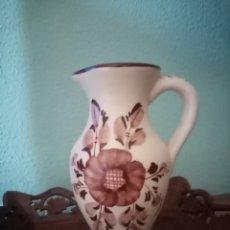 Antigüedades: HERMOSO JARRÓN, DE CERÁMICA DE COLOR CAFÉ. SE CONSERVA COMPLETAMENTE IMPECABLE 19CM ALTO X 13CM ANCH. Lote 212052638