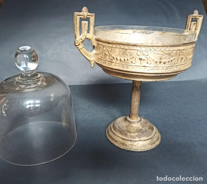 Antigüedades: Antigua quesera - Foto 7 - 212090353