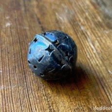 Antigüedades: CASCABEL DE PLATA - 3 CM DE DIAMETRO APROX. Lote 212099850