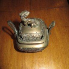 Antigüedades: CAJA DE BRONCE ANTIGUA CHINA. Lote 212115636