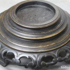 Antigüedades: ANTIGUA PEANA DE MADERA. CHINA. PRIMERA MITAD SIGLO XX. Lote 212143917