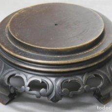 Antigüedades: ANTIGUA PEANA DE MADERA. CHINA. PRIMERA MITAD SIGLO XX. Lote 212143923