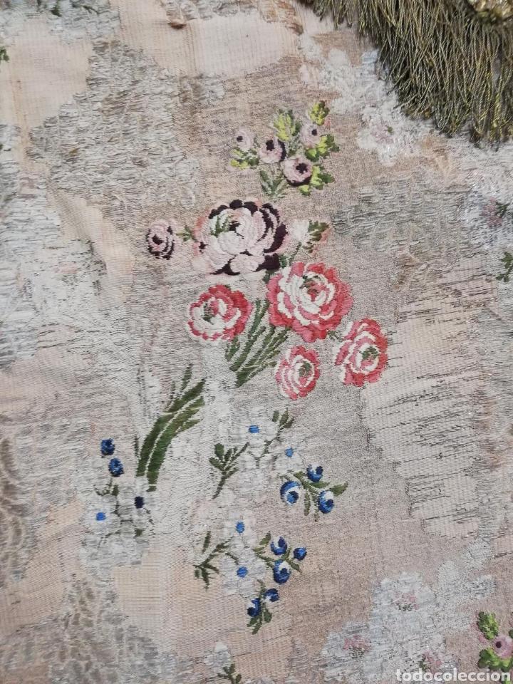 Antigüedades: Magnífica capa pluvial de espolin siglo XVIII - Foto 5 - 212164621