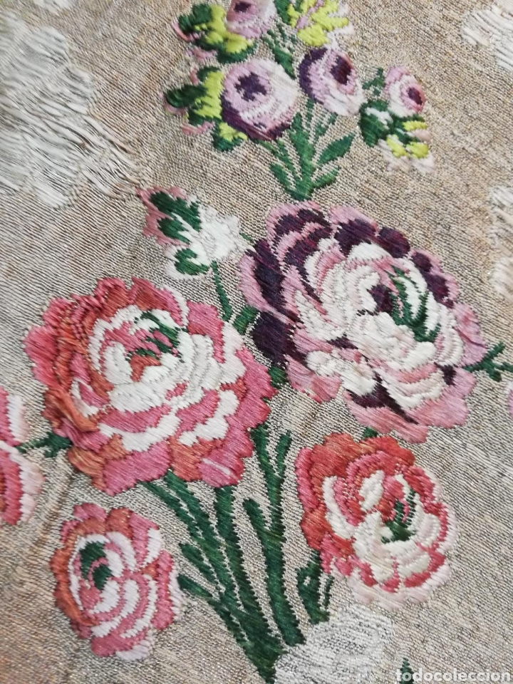 Antigüedades: Magnífica capa pluvial de espolin siglo XVIII - Foto 11 - 212164621