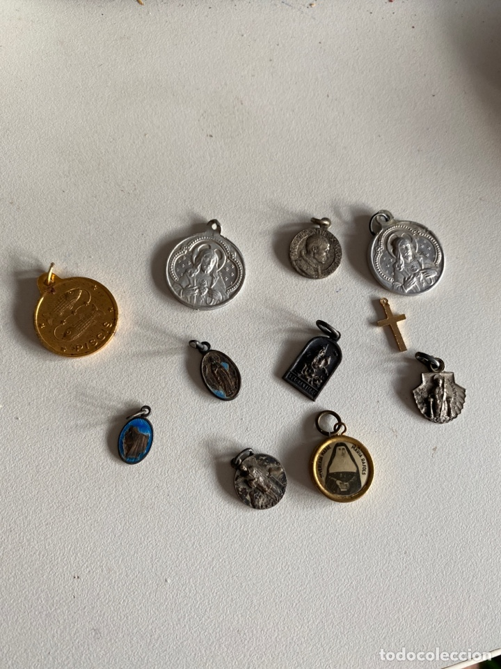 MEDALLAS (Antigüedades - Religiosas - Medallas Antiguas)
