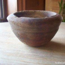 Antigüedades: ANTIGUO CUENCO DE MADERA . ARTE PASTORIL .. Lote 212204767