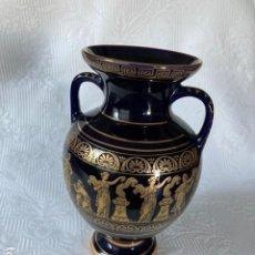 Antigüedades: JARRON CLÁSICO GRIEGO 24 K. Lote 212294181