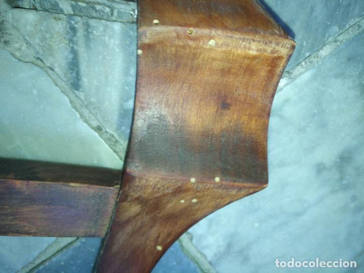 Antigüedades: precioso galan de noche , madera, tiene algujeros y boquete de polilla ver fotos ideal restauradore - Foto 5 - 19890984