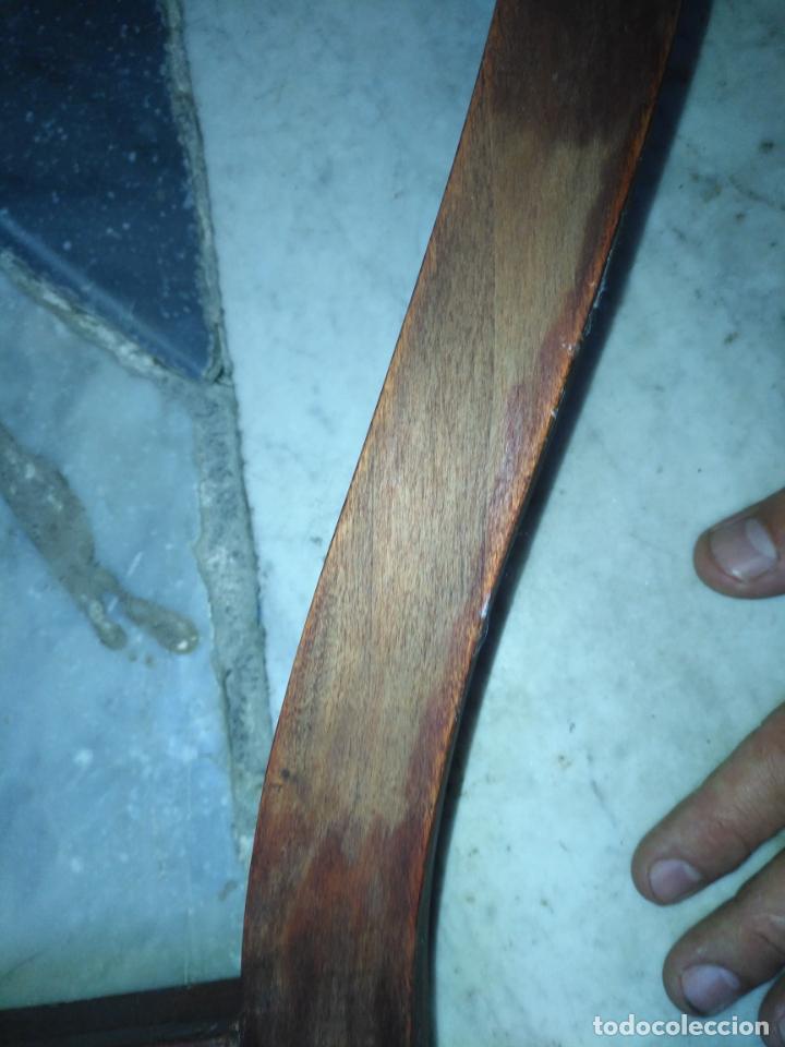Antigüedades: precioso galan de noche , madera, tiene algujeros y boquete de polilla ver fotos ideal restauradore - Foto 11 - 19890984