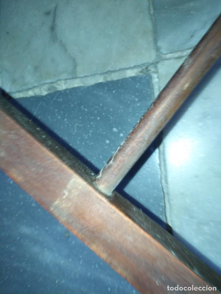 Antigüedades: precioso galan de noche , madera, tiene algujeros y boquete de polilla ver fotos ideal restauradore - Foto 16 - 19890984