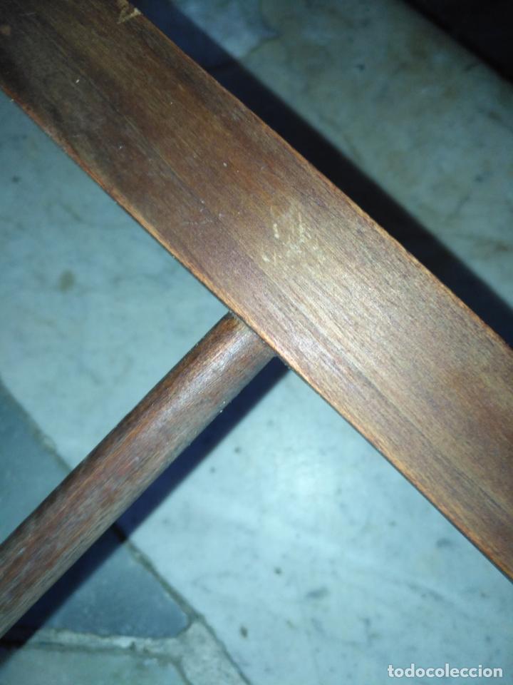 Antigüedades: precioso galan de noche , madera, tiene algujeros y boquete de polilla ver fotos ideal restauradore - Foto 17 - 19890984