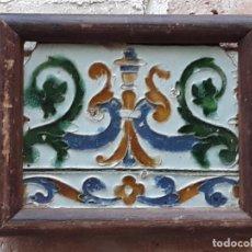 Antigüedades: AZULEJO ANTIGUO DE TOLEDO - ARISTA - RENACIMIENTO - SIGLO XVI.. Lote 212309932