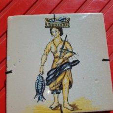 Antigüedades: AZULEJO DE MANISES. Lote 212337843