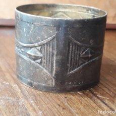 Antigüedades: SERVILLETERO EN PLATA. Lote 212366008