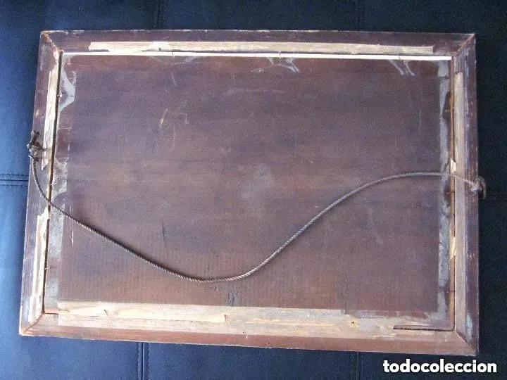 Antigüedades: Cuadro Marco Madera Cristal Título Graduación Tenedor Libros Cuba 1926 Habana grande 61 cm - Foto 9 - 212382170