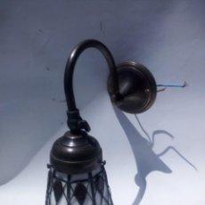 Antigüedades: APLIQUE DE PARED TIFFANY. Lote 212410061