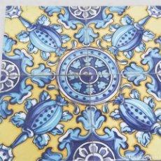 Antigüedades: CUATRO AZULEJOS DE PRINCIPIO DE SIGLO XX. Lote 212413475