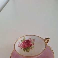 Antigüedades: PARA COLECION TAZA A CAFE EXPRESSO PORCELANA MAD JAPON HECHAY PINTADA A MANO LIEVA POLVO ORO 24K. Lote 212415875