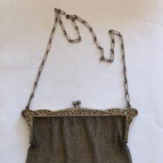 Oggetti Antichi: BOLSO DE PLATA MALLADO. Lote 212474695