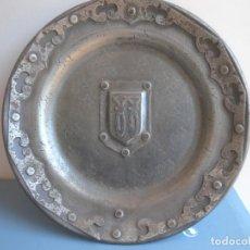 Antigüedades: PLATO. Lote 212507076