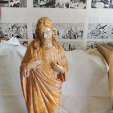 Antigüedades: SAGRADO CORAZÓN EN ESCAYOLA. Lote 212520728
