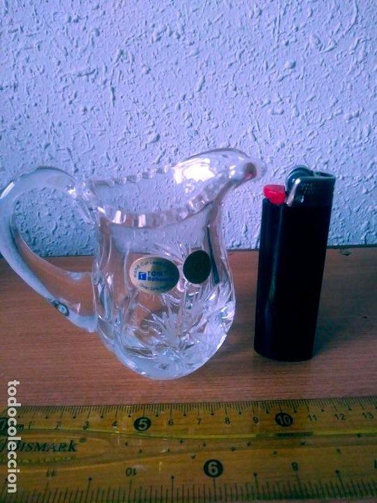 JARRITA DE CRITAL DE BOHEMIA (Antigüedades - Cristal y Vidrio - Bohemia)