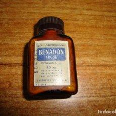 Antigüedades: (REF-002) FARMACIA MEDICAMENTO BENADON. Lote 212550867