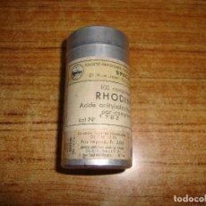Antigüedades: (REF-002) FARMACIA MEDICAMENTO RHODINE CON PROSPECTO. Lote 212551631