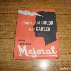 Antigüedades: (REF-002) FARMACIA MEDICAMENTO MUESTRA MEJORAL. Lote 212552365