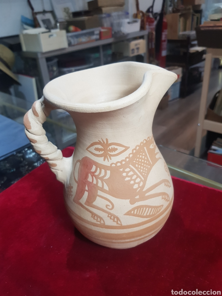 Antigüedades: Réplica de jarra celtíbera con decoración - Foto 2 - 212585143