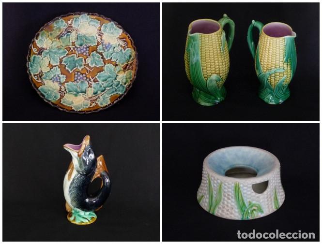 Antigüedades: Tacita de ceramica de Cartagena para café o chocolate - Foto 4 - 212349541