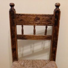 Antigüedades: ANTIGUA SILLA ARAGONESA. Lote 212600617