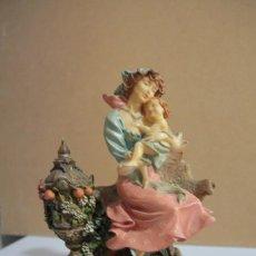 Antigüedades: PRECIOSA FIGURA MATERNIDAD. Lote 212604281