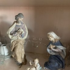 Antigüedades: BELEN LLADRÓ GRAN TAMAÑO COMPLETO 5 PIEZAS. Lote 212614742