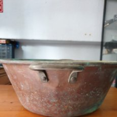 Antigüedades: CALDERA DE COBRE ANTIGUA. Lote 212635346