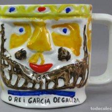 Antigüedades: JARRA O REI GARCIA DE GALICIA CASTRO SARGADELOS SERIE PERSONAJES MEDIEVALES DISEÑO DE LUIS SEOANE. Lote 212702732