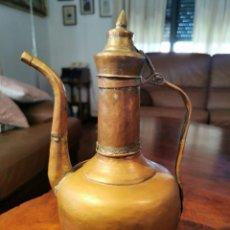 Antigüedades: JARRA DE COBRE ESTILO ARABE - DECORACION RUSTICA 36CM. Lote 212711361