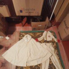 Antigüedades: MUY ANTIGUO TRAJE DE ALGUNA HERMANDAD. Lote 212729168