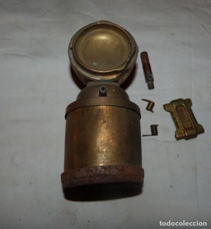 Antigüedades: CARBURERO DE BICICLETA JMPEX, INCOMPLETO - Foto 2 - 212735118