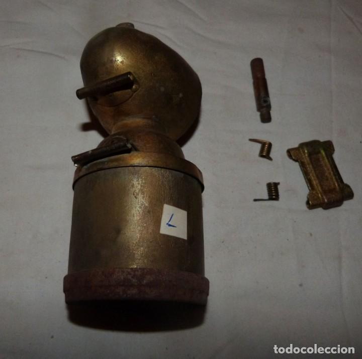 Antigüedades: CARBURERO DE BICICLETA JMPEX, INCOMPLETO - Foto 3 - 212735118