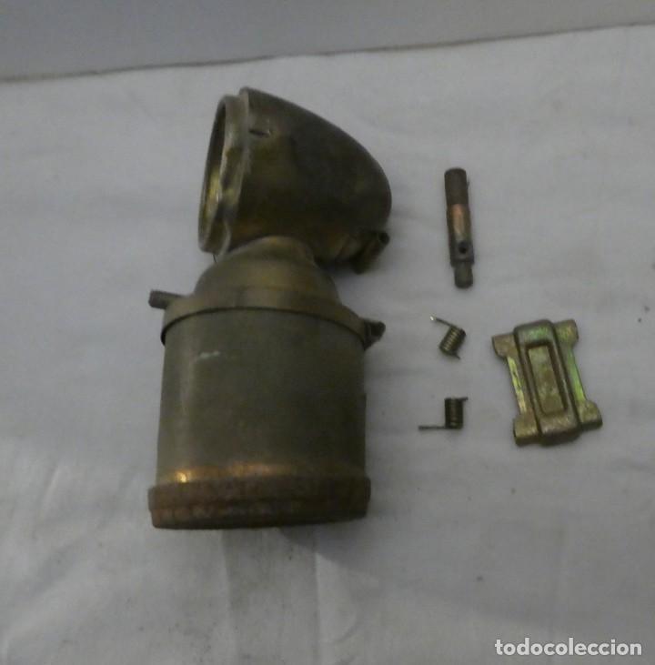 Antigüedades: CARBURERO DE BICICLETA JMPEX, INCOMPLETO - Foto 6 - 212735118