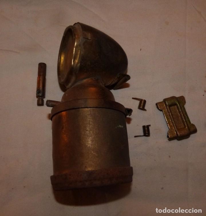 Antigüedades: CARBURERO DE BICICLETA JMPEX, INCOMPLETO - Foto 7 - 212735118