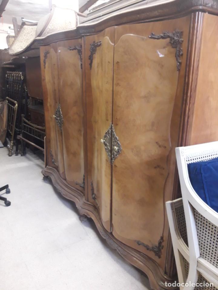 ARMARIO DE 4 PUERTAS (Antigüedades - Muebles Antiguos - Armarios Antiguos)