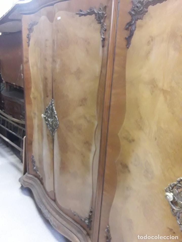 Antigüedades: armario de 4 puertas - Foto 3 - 212750145